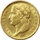 1809-1814 20 Franc Gold Coin - Napolean (.1867 oz of Gold)