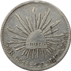 1831 Mexico 8 Reales Silver Coin (.7859 oz of Silver)