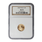 2004 $5 American Gold Eagle NGC MS70