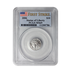 2006 $10 Platinum American Eagle PCGS MS69 - First Strike