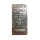 10 oz Johnson Matthey Silver Bar - With Assay Card! (Pressed/JM Logo)