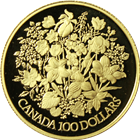1977 Canadian $100 Proof Gold - Queen's Silver Jubilee (.50 oz of Gold)