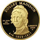2007-W $10 Dolley Madison First Spouse Proof Gold Coin