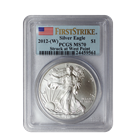 2012-W 1 oz Silver American Eagle PCGS MS70 First Strike | Struck At West Point Mint