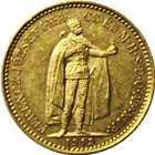 Hungary 10 Korona Gold Coin (.098 oz of Gold) - Random Date