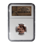 2009 Lincoln 1 Cent Formative Years NGC BU - First Day Of Issue