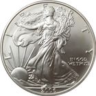 2006-W 1 oz Burnished American Silver Eagle (With Box and COA)