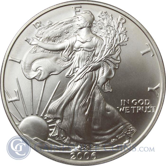 Image Showcase for 2006-W 1 oz Burnished American Silver Eagle