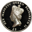 2012 Ascension Islands 2 oz High Relief Proof Silver Queen Elizabeth Diamond Jubilee (W/ Box & COA)