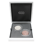 2013 British Virgin Islands Father Of The Modern Olympics 2-Coin Silver and Copper Set (1.5 oz ASW)