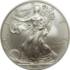 2008-W 1 oz Burnished American Silver Eagle (With Box and COA)