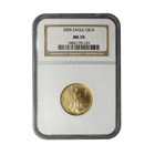 2005 $10 Gold American Eagle NGC MS70