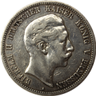 1895-A Germany 5 Mark Silver Coin (.8037 oz of Silver)