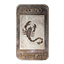 1 oz Silver Art Bar - Aries Scorpio .999 (National Mint)