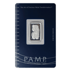 2.5 Gram PAMP Suisse Silver Bar | Lady Fortuna With Assay (.999 Pure)