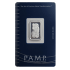 5 Gram PAMP Suisse Silver Bar | Lady Fortuna With Assay (.999 Pure)