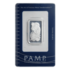 10 Gram PAMP Suisse Silver Bar | Lady Fortuna With Assay (.999 Pure)