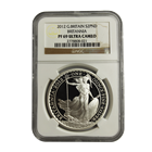 2012 1 oz Proof Silver Britannia NGC PF69 - Mintage of ONLY 2,450 Coins
