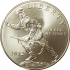 2012 Infantry Soldier Silver Dollar | Defenders of Freedom United States Mint