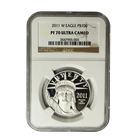 2011-W $100 Proof Platinum American Eagle NGC PF70
