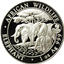 2013 1 oz Silver Somalian African Elephant - With Lunar Snake Privy Mark (.999 Pure)