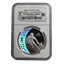 2007 Silver Canadian $25 Olympic Alpine Skiing NGC PF69