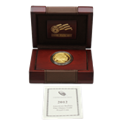 2012-W 1 oz Proof Gold Buffalo (In Original Mint Box with COA)
