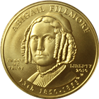 2010 $10 Abigail Fillmore First Spouse Gold - With Box & COA