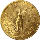 1923 Mexican 50 Pesos Gold Coin (1.2057 oz)