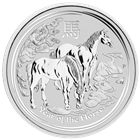 2014 10 Kilo Silver Australian Lunar Year of the Horse Coin (321.5 oz)