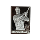 Mark McGwire 8 oz Proof Silver Card - Danbury Mint (With Mint Box) .999 Pure