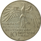 German 10 Mark Silver Coin - Random Date (.311 oz of silver)