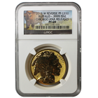 2013-W $50 Reverse Proof Gold Buffalo Chicago ANA Release NGC PF69 (With OGP!)