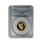 1988-W US Mint $5 Proof Gold Olympic Commemorative PCGS PR69 Deep Cameo
