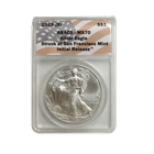 2013 1 oz Silver Eagle ANACS MS70 (Initial Release - San Francisco Mint)
