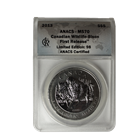 2013 1 oz Silver Canadian Wood Bison ANACS MS70 First Release