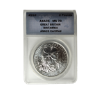 2010 1 oz Royal Mint Silver Britannia | ANACS MS70