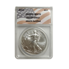 2012 1 oz  American Silver Eagle ANACS MS70