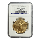 2009 $50 American Gold Eagle NGC MS69 Early Release
