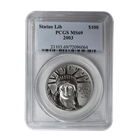 2003 $100 American Platinum Eagle PCGS MS69