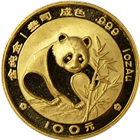 1988 1 oz Gold Chinese Panda (100 Yuan)