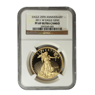 2011-W 1 oz $50 Proof Gold American Eagle - NGC PF69 Ultra Cameo