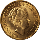 1925-1933 Netherlands 10 Gulden Gold Coin - Random Date (.1947 oz of Gold)