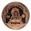 1 AVP OZ Copper Round | $5 Indian Head Design