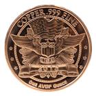 1 AVP OZ Copper Round | Abraham Lincoln Design
