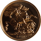 2012 Proof Gold British Sovereign - (.2354 oz of Gold)