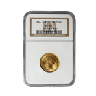 1964 Gold British Sovereign NGC MS65 - (.2354 oz of Gold)
