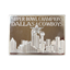 Dallas Cowboys 3 oz Silver Bar - Enviromint (With Case & COA) .999 Pure