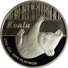 2002 2 oz Australia Proof Platinum Koala (With Box & COA) - Mintage of ONLY 250!