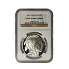 2001 P Buffalo Commemorative Silver Dollar NGC PF69 Ultra Cameo